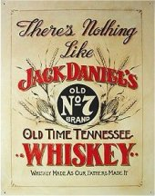 JACK DANIEL'S Old Time Tenessee Blechschild 20x30cm