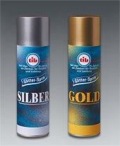 DEKOSPRAY Glitterspray gold 100 ml styroporgeeignet
