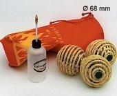 Feuerjonglierball Set 68mm Durchmesser
