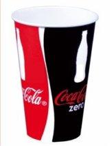 100 Coca Cola Pappbecher 0,2L Trinkbecher