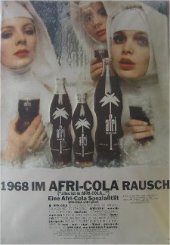 afri COLA Nonnen nostalgie Blechschild 35x50cm