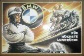 BMW Motorrad für höchste Ansprüche J. Stürmer Blechschild 20x30cm