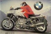 BMW Motorrad K 100 RS nostalgisches Blechschild 20x30cm schw. Qualität