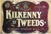 Kilkenny Tweeds nostalgisches Blechschild 20x30cm schwere Qualität