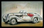 BMW 1937 nostalgisches Blechschild 20x30cm schwere Qualität