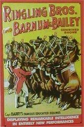 Zirkus Barnum & Bailey Ringling Brothers Blechschild 20x30cm