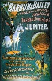 Zirkus Barnum & Bailey nostalgisches Blechschild 20x30cm schw.Qualität