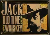 Jack Daniels old time tennessee sippin' whisky  Blechschild 20x30cm