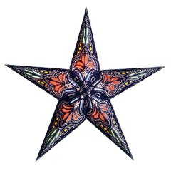 earth friendly JAPIPUR BLUE/RED 60cm Starlightz