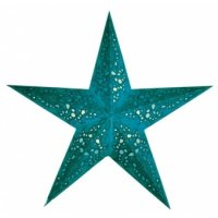 earth friendly Mia Turquoise 60cm Weihnachtsstern Starlightz