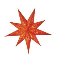 earth friendly Baby Spumante Orange 45cm starlightz Weihnachtsstern