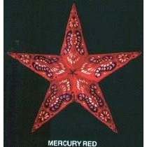 earth friendly MERCURY RED Weihnachtsstern starlightz