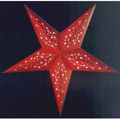 earth friendly MIA RED 60cm Weihnachtsstern Starlightz