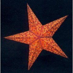 earth friendly FURNACE RED/ORANGE Starlightz