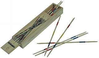 Mikado mittel 18 cm in Holzbox / Holzkiste