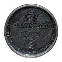Eulenspiegel Aqua Schminke Tigel Perlglanz-Schwarz
