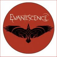 EVANESCENCE Badge A1 Button 55mm Metal NEU