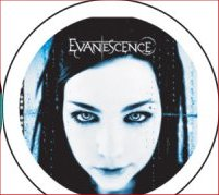 EVANESCENCE Badge A6 Button 55mm Metal NEU