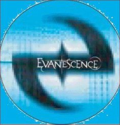 EVANESCENCE Badge A8 Button 55mm Metal NEU