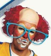 Clownglatze August - Perücke - Halbglatze Clown