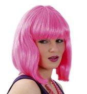 Perücke Lola neon pink