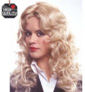 Claudia HQ blond - Perücke - blonde Locken