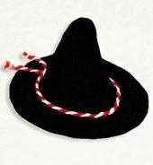 Räuber-Hut / Mütze Räuberhut schwarz