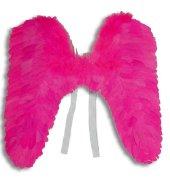 Engelsflügel pink aus Federn