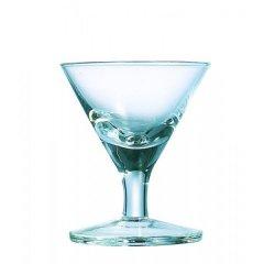 6 Mini Martini Cocktailschalen Gläser 4cl Glas