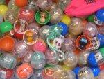25 Stück Füllware gefüllte Kapseln für Kaugummi Automat K11 Mischung