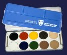 Kryolan Body Illustration Color BIC Palette 10 Farben