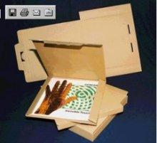 100 LP Versandkartons f.1 - 3 LPs Vinyl Versandkarton
