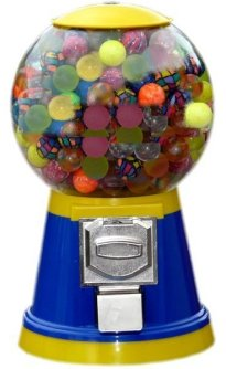 Flummi Automat - Flummiautomat gefüllt 32mm Flummis