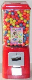 Kaugummi Automat wie früher rot/rot #