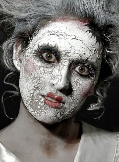 Metamorph 100030 Scary Skin weiss
