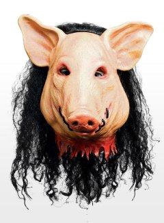 Saw Pig Maske aus Latex