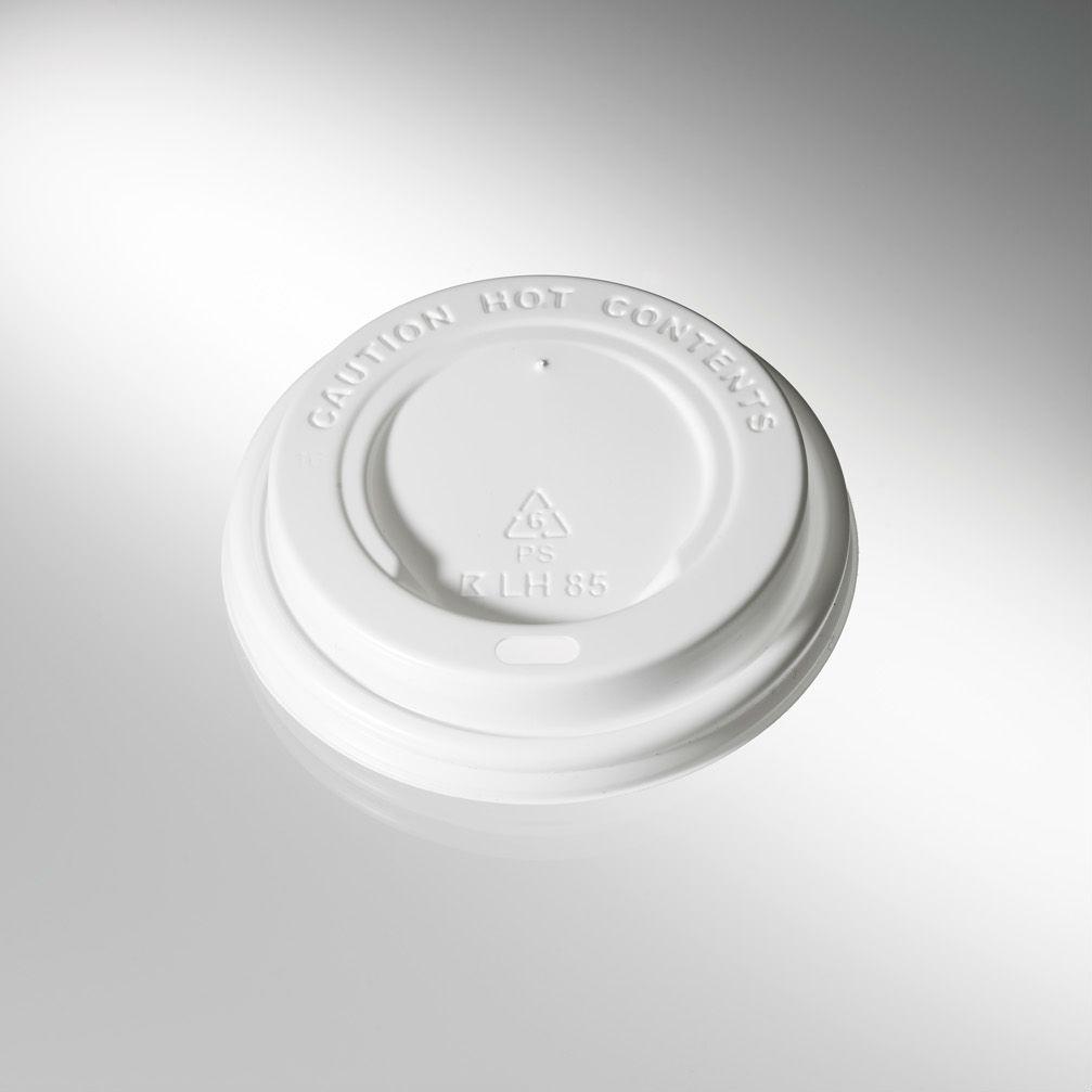 75 Deckel für Hartpapierbecher Coffee-to-go Becher deutsche Prod. 80mm