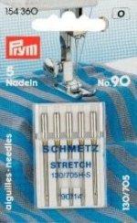 Prym 154360 Nähmaschinennadeln 130/705 Stretch 90