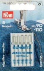 Prym 154520 Nähmaschinennadeln 130/705 Jeans 90-110