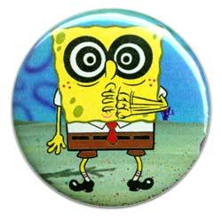 SpongeBob - Schwammkopf Button ca. 5,5cm NEU 8869