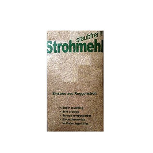 Roggenstroh ca. 22KG - staubfrei Strohballen Einstreu Cordes Grasberg