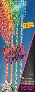 WECO 6530 Color-Sprüher 10er Schachtel Handfontäne