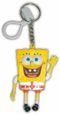 SpongeBob - Schwammkopf 3D Schlüsselanhänger