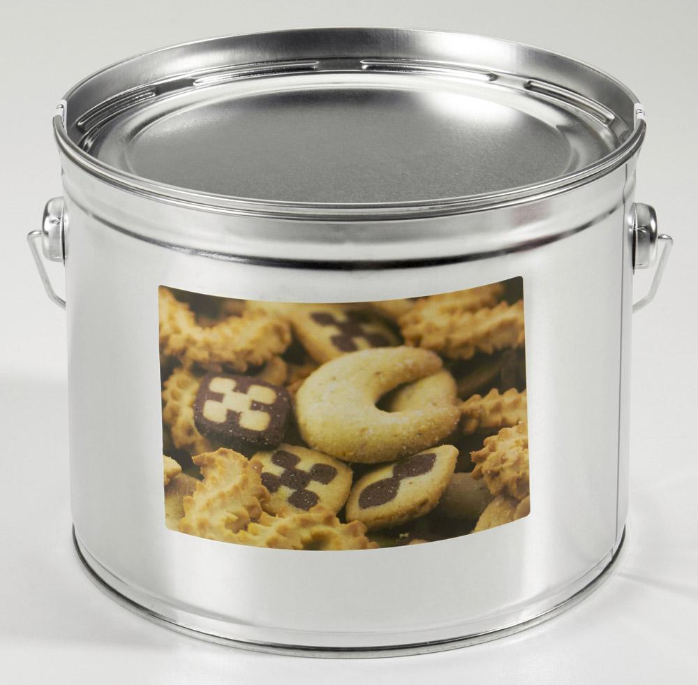Rünz Gebäckmischung - Feines Mürbgebäck Kekse Metalldose (1500g)