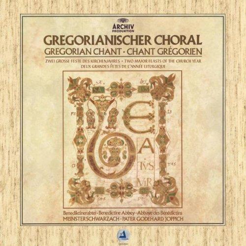 Gregorianischer Choral 180g LP Vinyl Mönche Benediktinerabtei Münsterschwarzach