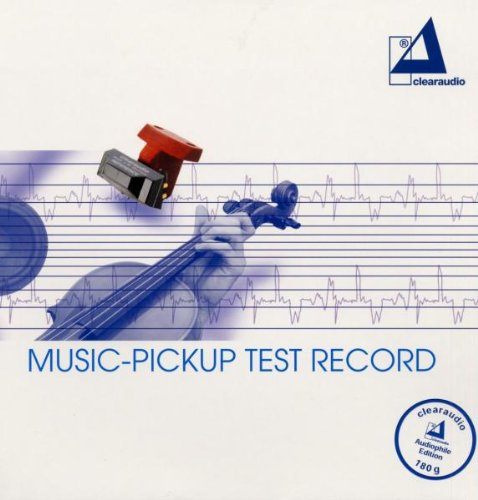 Music-Pickup Test Record (180g) [Vinyl LP] Clearaudio - LP 43033