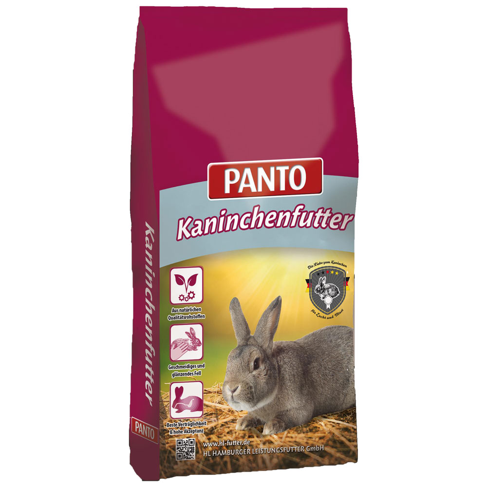 25KG Panto Kaninchenfutter Kanin Zucht Pellets