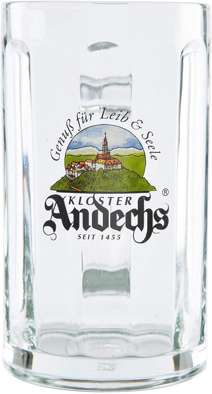 6 original Kloster Andechs Exclusiv Tankard Glückauf Seidel