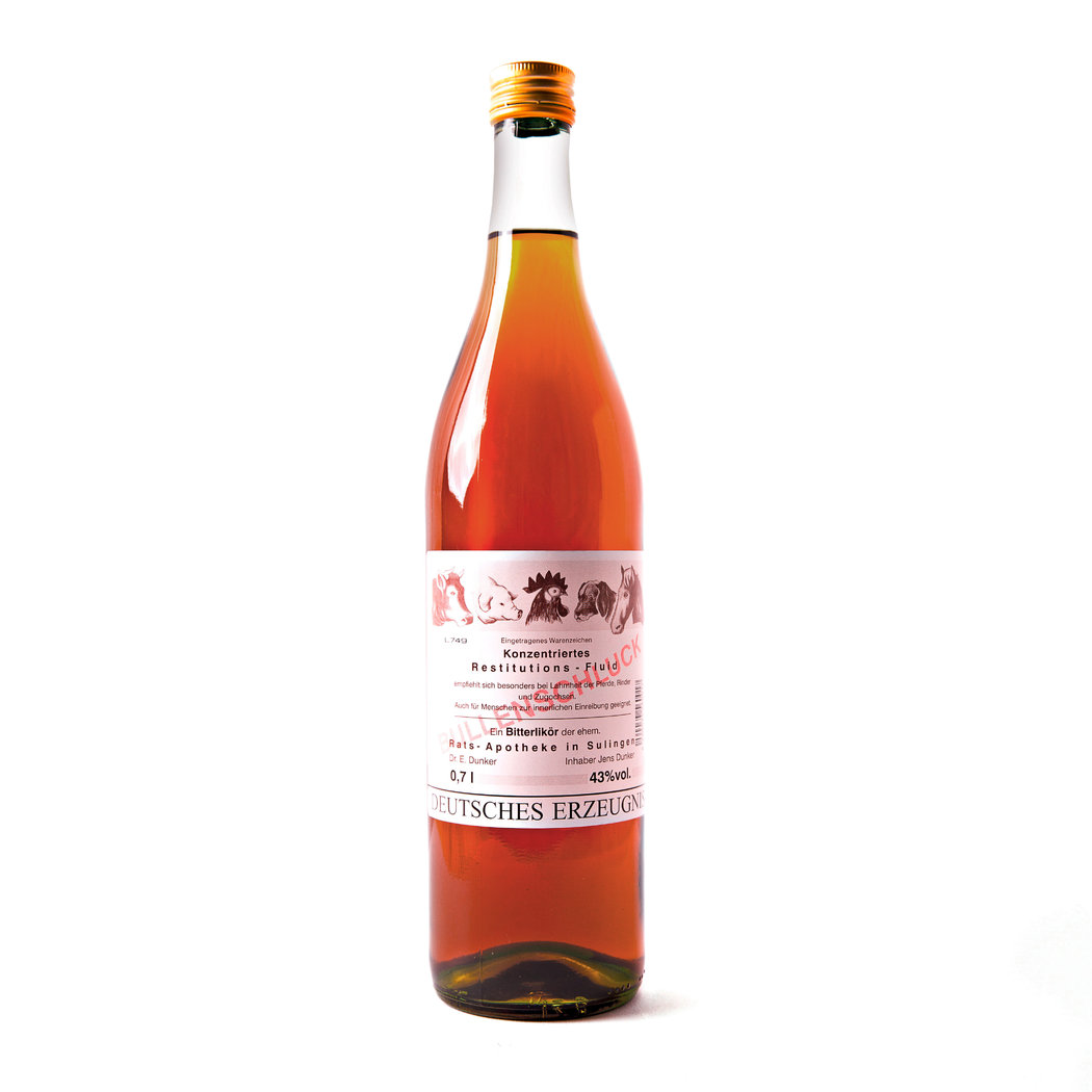 Bullenschluck Bitterlikör - 43% vol. - 0,70 Liter Flasche