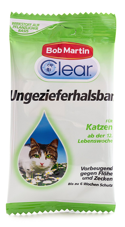 Bob Martin G2126 Clear Ungezieferhalsband für Katzen